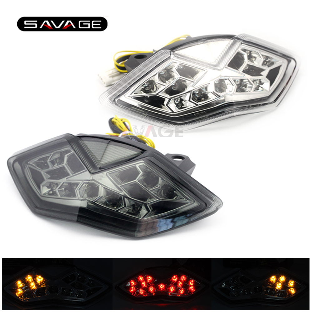 Integrated LED Tail Light For KAWASAKI Z1000/SX NINJA 1000 KLE 650 VERSYS Motorcycle Accessories Turn signal Blinker Assembly