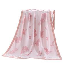 Bamboo Fibe детское одеяло Добби детская Пеленка, новорожденный детское одеяло плед пледы ковры размер 90*100 см
