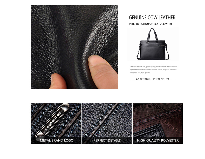 Leather Men Bag Stop118 5