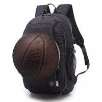 Multifunction Basketball Backpack Man SportS Bag Gym Bag 15 6 Inch Laptop With Basketball Net USB