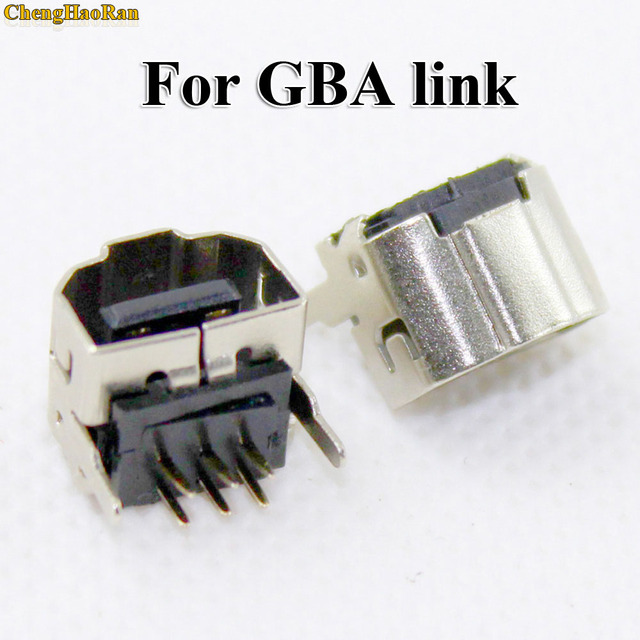 ChengHaoRan 100pcs 2 Player Game Link Connect Jack Connector For Nintendo Gameboy Advance GBA SP Console Socket
