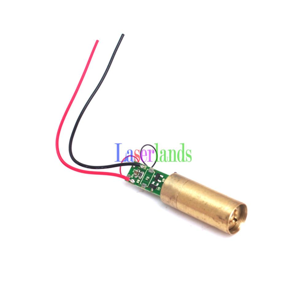 5mw Green 532nm Laser DOT Module APC FDA License Safe 3V DC