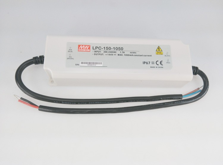 цены Original MEAN WELL 150W Single Output Constant Current LED Driver Switching Power Supply LPC-150
