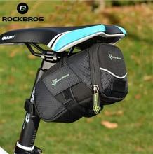 RockBros Moutain Road Bike Bag Durable Quick Release Bicycle Saddle Bag Cycling Back Seat Seatpost Tail Bag Bolsa Bicicleta