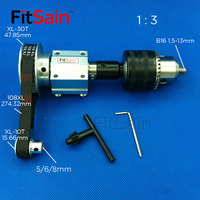 FitSain-XL 1:3 B16 DIY bench saw spindle precision micro table saw transmission bearing seat small lathe micro table saw spindle