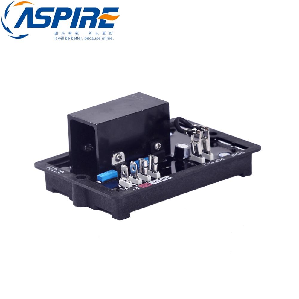 Automatic voltage regulator avr for generator alternator AVR R220 avr 110v automatic voltage regulator fit