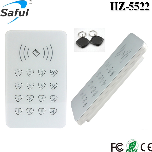 Free shipping 433MHz RFID Wireless remote access control Keypad / Keyboard for GSM alarm system compatible remote control replaces for seip 433 rc am 433 92mhz dhl free shipping
