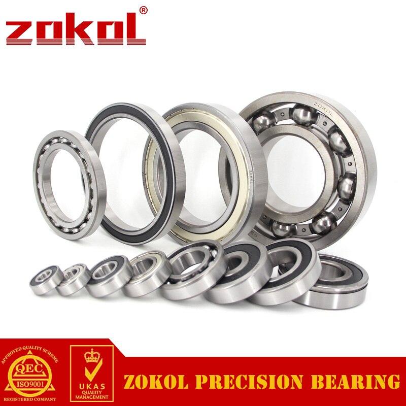 ZOKOL 62211RS bearing 62211 2RS RS 180511 Deep Groove ball bearing 55*100*25mm zokol bearing 51312 thrust ball bearing 8312 160 200 31mm