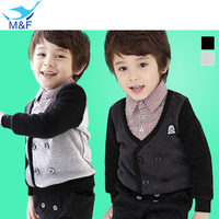 Hot Baby Boy T Shirt Pure Cotton Kids Lattice T Shirt With Long Sleeve Spring Autumn