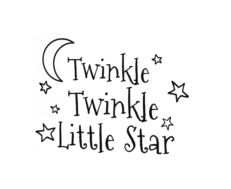 Wall Decal Art Vinyl Sticker Quote Twinkle Twinkle Little Star Babyu0027s  Room In Wall Stickers From Home U0026 Garden On Aliexpress.com | Alibaba Group Part 76