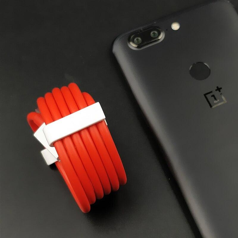 Оригинальный OnePlus 5 т Зарядное устройство кабель один плюс 5 3 3 т USB 3.1 Тип c тире зарядки Тип- C быстрой зарядки синхронизации данных USB-C