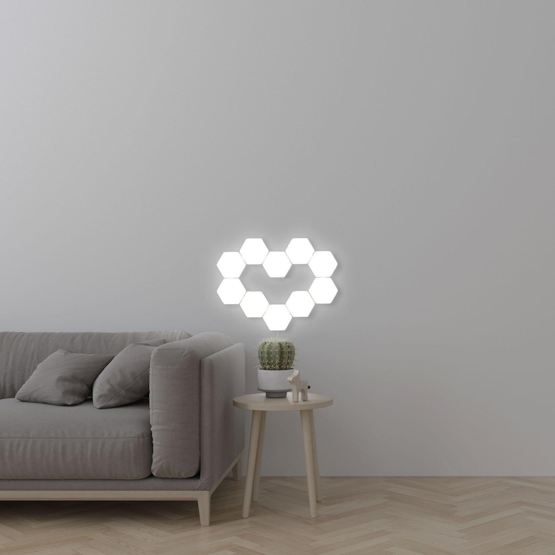 CONDUZIDA Da Noite Luz Modular Magnética Criativo