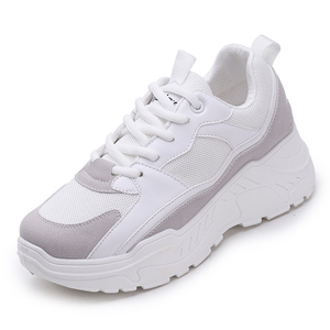 Image 2 - Women Shoes 2019 New Chunky Sneakers For Women Vulcanize Shoes Casual Fashion Dad Shoes Platform Sneakers Basket Femme Krasovki