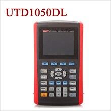"Cheap price UNI-T UTD1050DL 2 Channels 50MHz Handheld Digital Storage Oscilloscopes Scopemeter 250MS/s Multimeter DMM 2in1 USB 3.5"" TFT LCD"