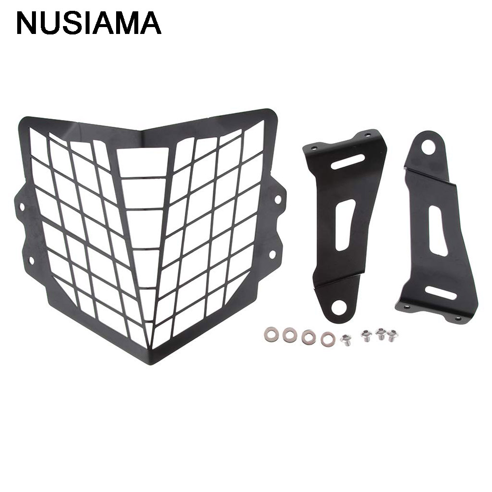 New Motorcycle Metal Headlight Lamp Cover Mask Motorbike Headlight Collision Net Car Accessories For Honda CRF250L CRF250M 12-17