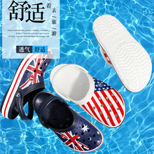 2019 Women Shoes Croc Men New Beach Shoes Sandals Home Slippers Men Outdoor Summer Sea Shoes Wading Sneaker Leisure Shoes home office leisure outdoor rattan daybed with white cushion to sea port by sea