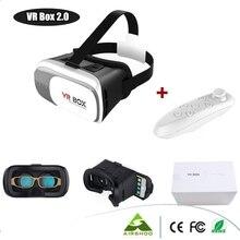 Original Google Cardboard VR BOX II 2.0 VR Virtual Reality 3D Glasses For 4″-6″ Smartphone + White Bluetooth Gamepad
