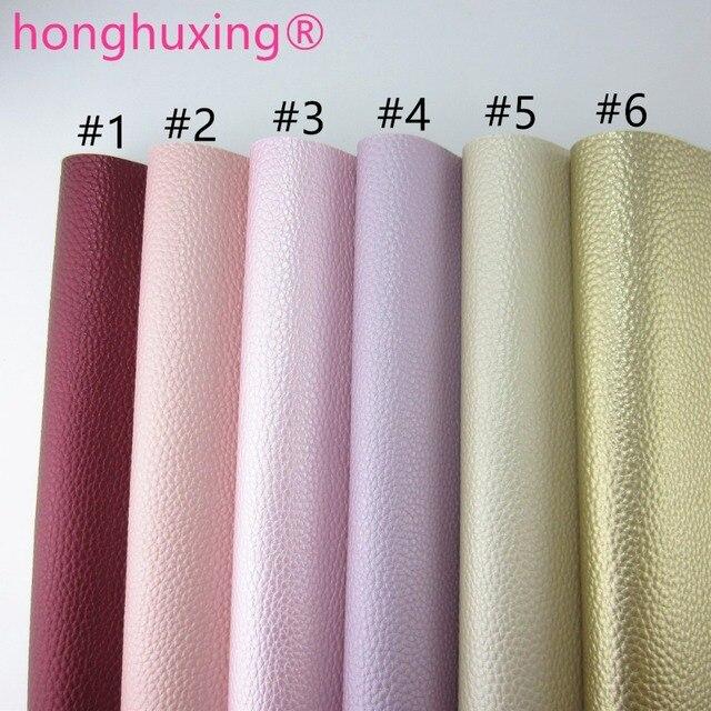 """Folha A4 8 """"X 11"""" tecido de couro sintético lichia falso tecido de couro do plutônio para sacos de arcos de costura craft DIY peças F0401 1"""