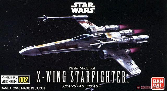 Bandai Estrela Guerra VM 01 Modelo Do Veículo Mini X-asa De Plástico Brinquedos modelo Figura