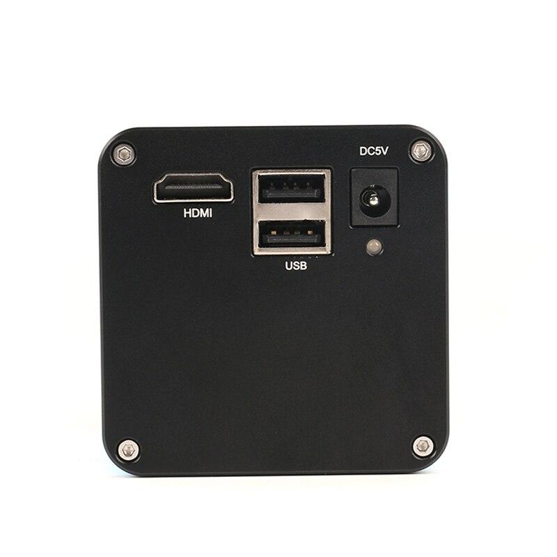 2019 Upgrade Autofocus SONY IMX290 HDMI TF Video Auto Focus Industry Microscope Camera + 200X C Mount Lens + 144 LED Ring Light