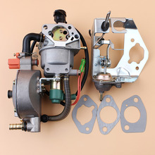 Auto Choke Carburetor Valve Damper Bracket Gasket Kit For Honda GX390 Chinese 188F 190F Motor Engine LPG/CNG/Gasoline