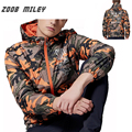 Hot Sale 2016 Fashion Mens Camouflage Jacket Loose Fit Hooded  Military Outerwear Causal Coats Big Size M-3XL