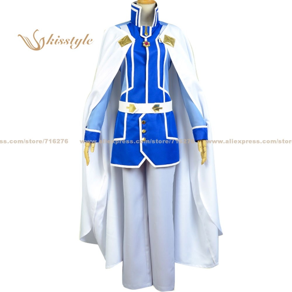 Kisstyle Fashion Snow White with the Red Hair Second Prince Zen Wistalia Uniform Clothing Cosplay Costume,Customized Accepted