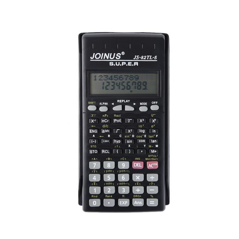 Handheld Portable Multi-Function Display 2 Lines Scientific Function Calculator School Supplies Office Accessories multi function green