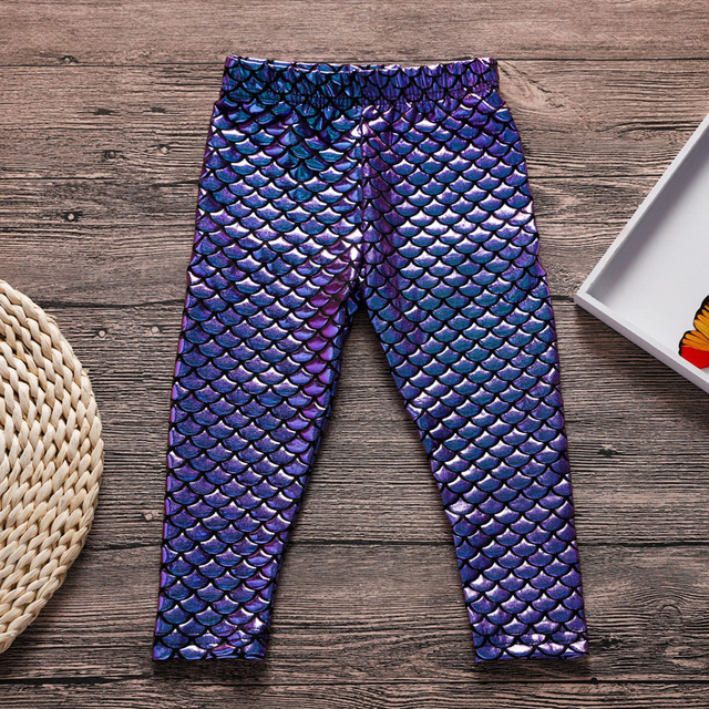 Little mermaid leggings 2