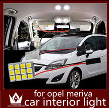 GuangDian car led light interior light dome light Reading lamp Roof auto bulb vanity light For Opel Meriva accessories 2006-2015