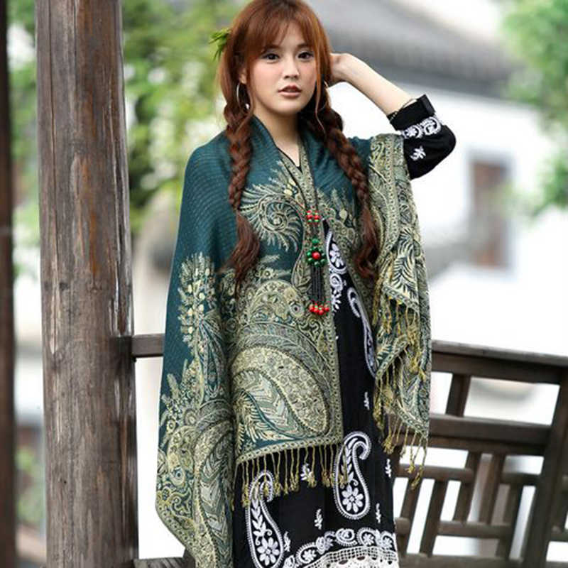 RUNMEIFA 2019 エレガントな女性カシミヤパシュミナスカーフファッションプリント花柄ショールラップスカーフ女性ヒジャーブストールスカーフプラスサイズ