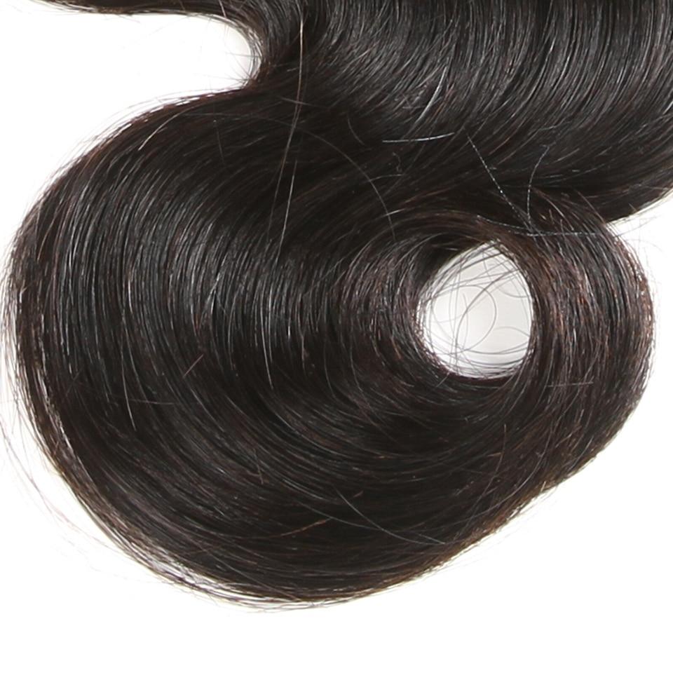 Karizma Brasiilia keha laine 100% inimese juuste kimbud 1 tk ainult - Inimeste juuksed (must) - Foto 3
