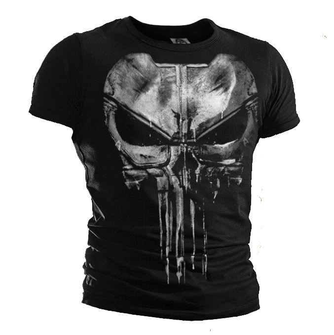 Ny punisher T-shirt Daredevil punisher Bomull Casual Kortärmad T-shirt Tee For Men T-Shirts