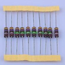 цена на 10pcs Carbon Composition vintage Resistor 0.5W 47R ohm 5 %
