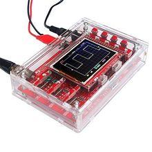 """Nouveau boîtier en acrylique transparent pour Oscilloscope numérique TFT DSO138 2.4"""""""