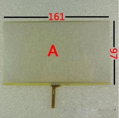 161mm*97mm New 7 Inch Touch Screen Navigation E Route X10-hd X20 External Screen Handwritten Screen 161*97
