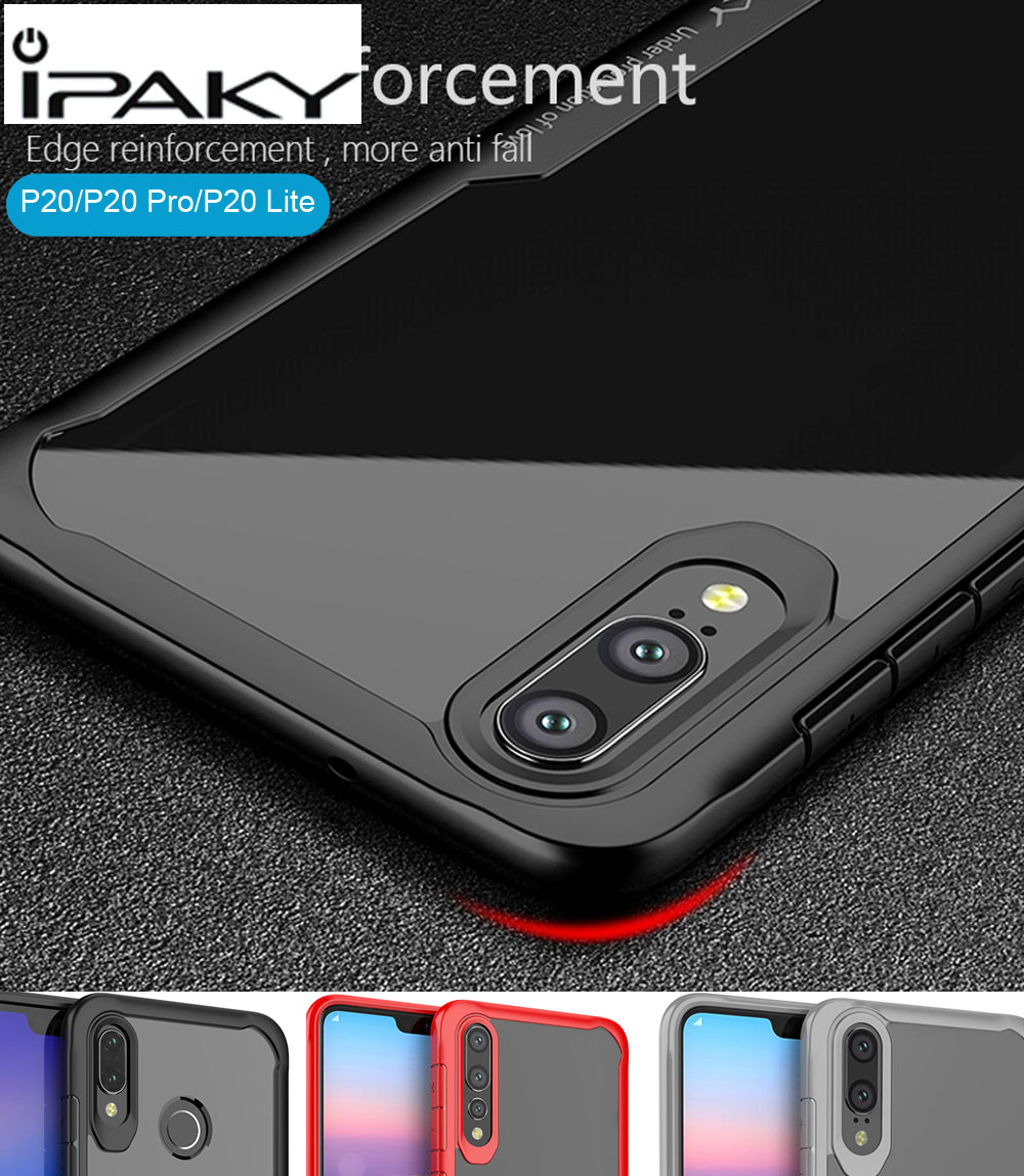 iPaky Case For Huawei P20 Pro Lite Super Drop resistance Armor anti hit Shock-proof Cover Nova 3e