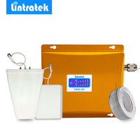 LCD Display 3G W CDMA 2100MHz GSM 900Mhz Dual Band Mobile Phone Signal Booster 900 2100