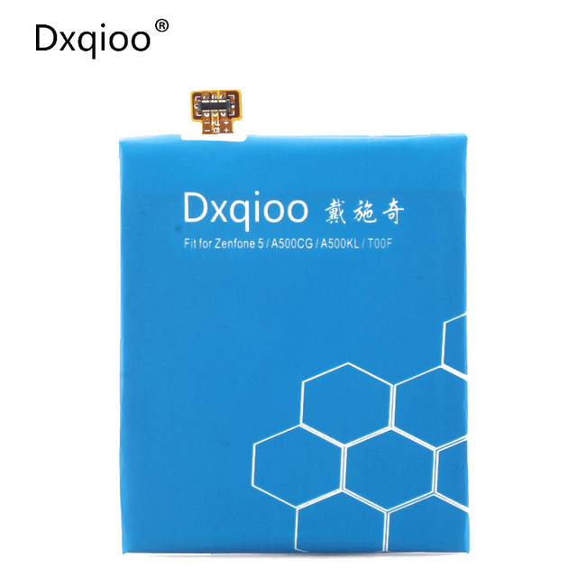 Dxqioo New  High quality Battery For ASUS ZenFone 5 A500G Z5 T00J C11P1324 battery