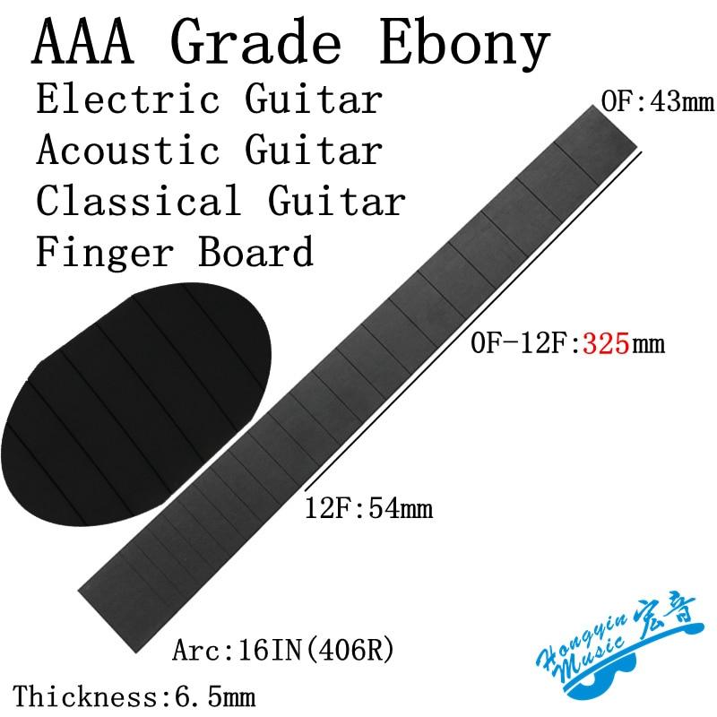 Katalox For Electric Guitar Acoustic Guitar Classical Guitar Standard 650mm Chord Length Fingerboard Wood Guitar Making Materia Guitar Parts & Accessories