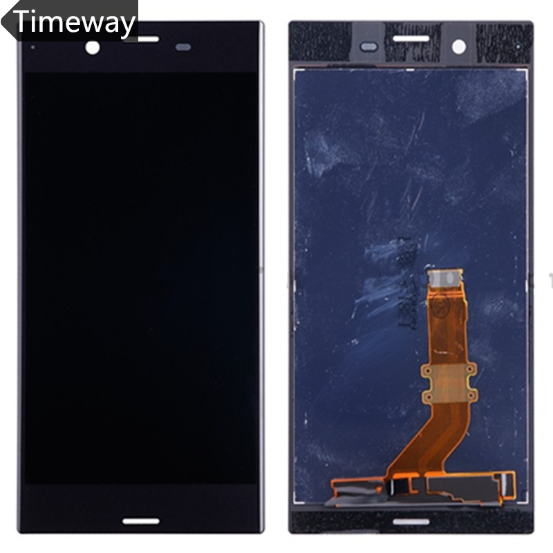 LCD Display For Sony Xperia XZ F8331 XZ Dual F8332 With Touch Screen Digitizer Assembly Original Replacement Parts Black/Blue