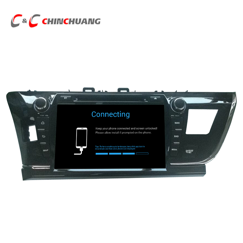Updated ! 2G RAM 32G ROM Android 7.1 Car DVD Player GPS Navigation for Toyota Corolla 2014 Left with Radio DVR, 9 Big Screen !