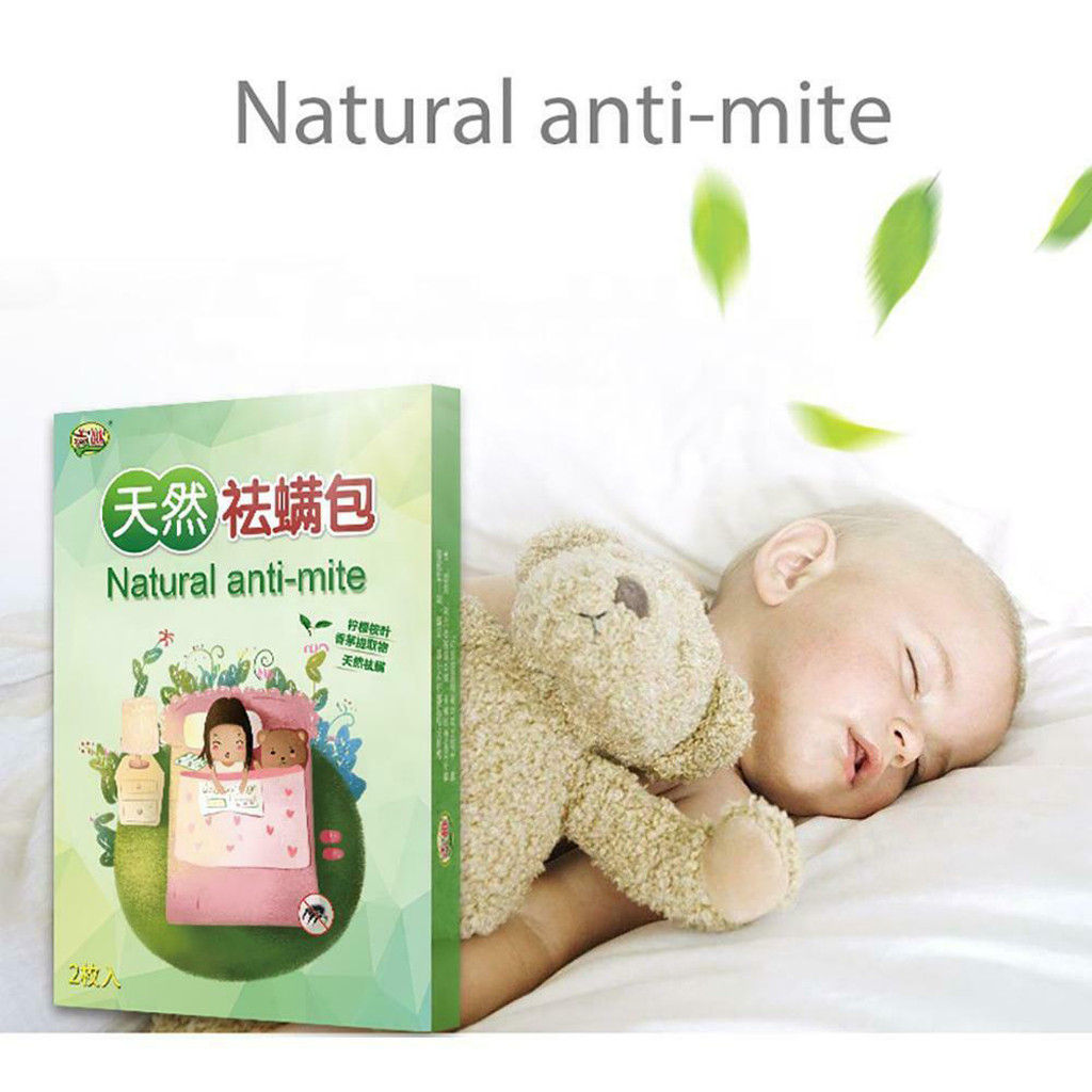 Go To The Bag 2019 Natural Mite Killer Natural Anti-Mite Plant Extract Non-Toxic Safe NEW
