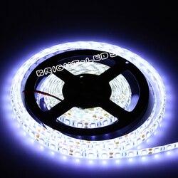 DC12V 5 м Светодиодная лента 5050 RGB, гибкий светильник 5050 Светодиодная лента неводостойкая белая, теплая белая, красная, синяя, зеленая, следуем ...