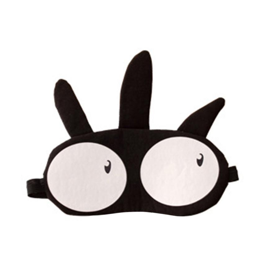 Cute Eye Mask Soft Padded Sleep Travel Shade Cover Eye mask 2