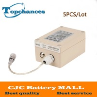 5x High Quality New Waterproof DC 12V 4800mah DC 12480 Rechargeable Li Ion Lithium Battery Batteries