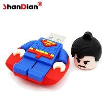 Superman32gb/16gb U disk Flash drive usb flash Memory stick