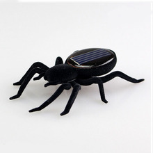 Mini Kit Solar Spider Toys Tarantula Cockroach Solar Energy Power Robot Bug Grasshopper Educational Gadget Toy