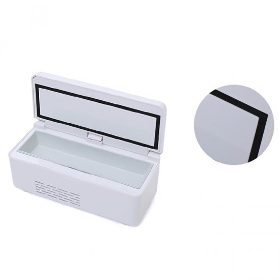 Health Care Portable Insulin Cooler Box Mini Drug Constant Temperature Refrigerator 2-8  Centigrade for kawasaki z800 z 800 2013 2016 motorcycle cnc aluminum panel left engine guard chain cover protector front sprocket cover