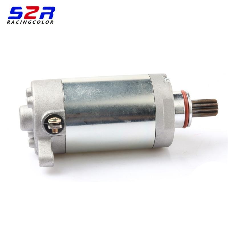 Motorycyle Starting Motor YBR125 Engine Electric Starter Motor For YAMAHA YBR125 YB125 YB125E YB125Z XTZ125 YP125